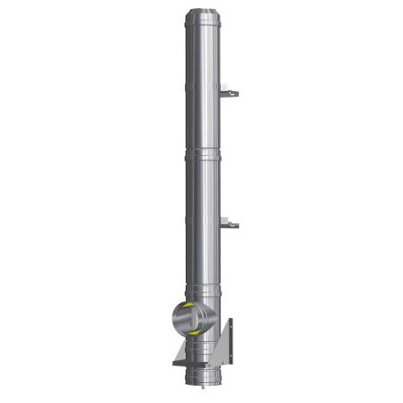 Nerezový izolovaný komín, tl. izolace 30 mm