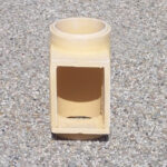 Komínová šamotová vložka – dvířkový díl – Keramika Letovice