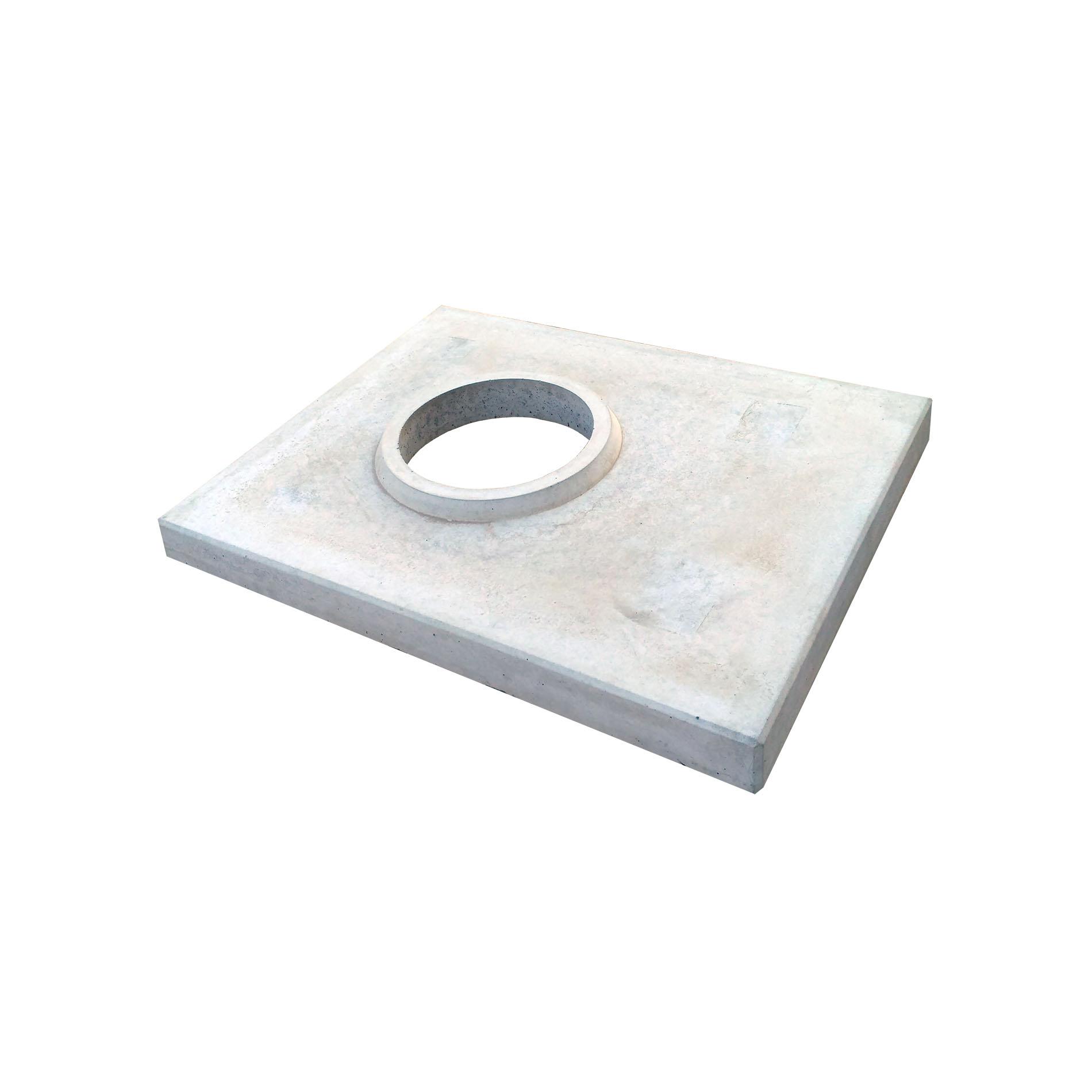 Betonová krycí deska, KDW 200, šedá