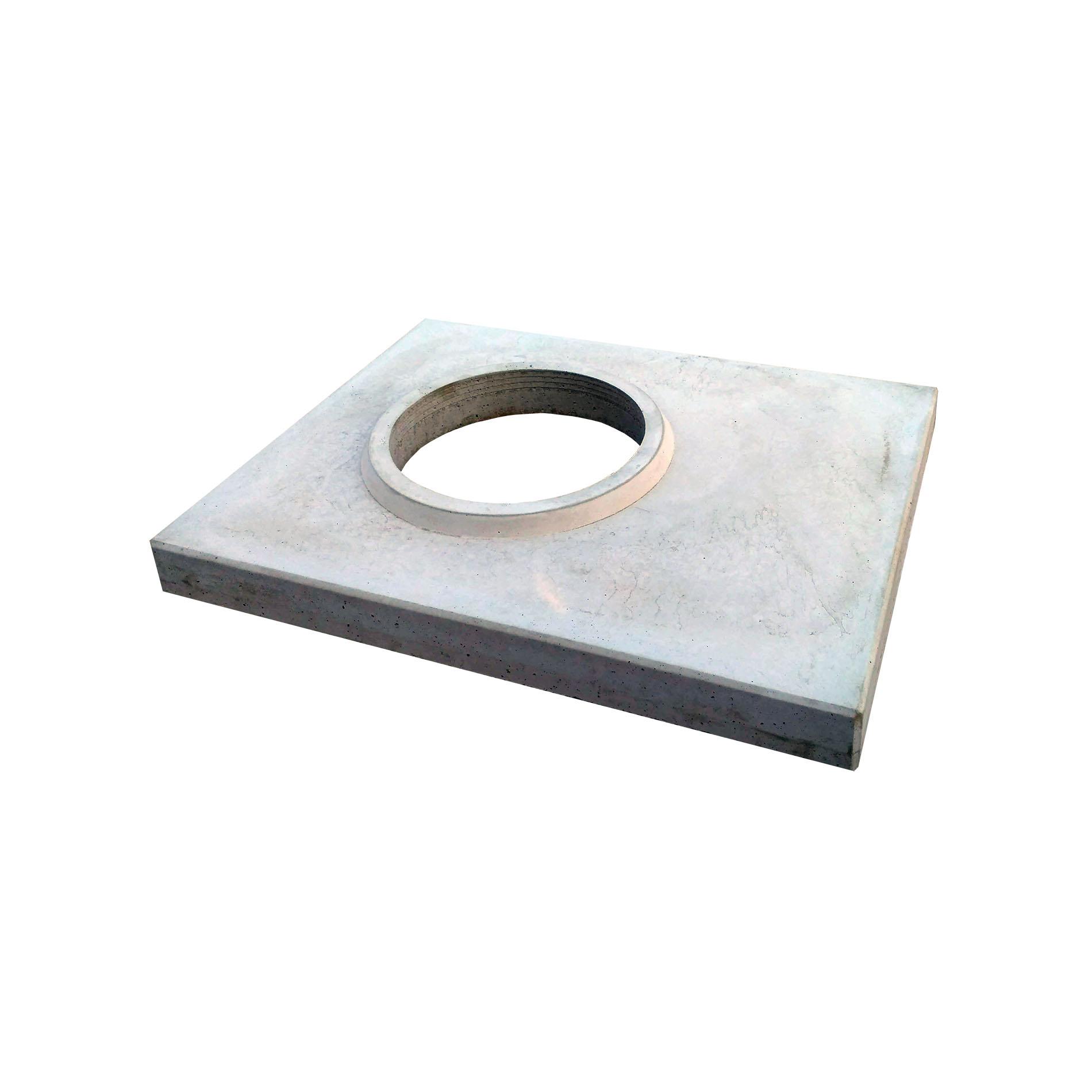 Betonová krycí deska, KDW 250, šedá