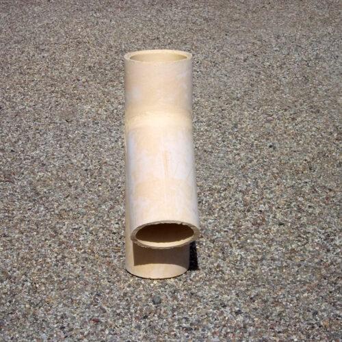 Komínová šamotová vložka - odbočka 45° - Keramika Letovice
