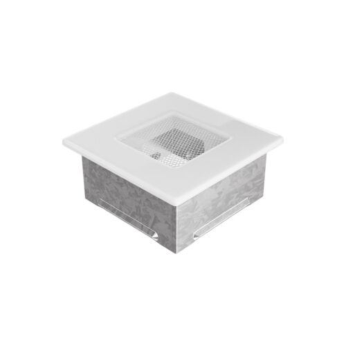 Bílá mřížka 100 x 100 mm