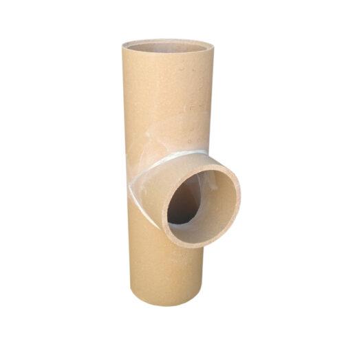 Keramická komínová vložka - odbočka 90° PKZ Keramika Poštorná