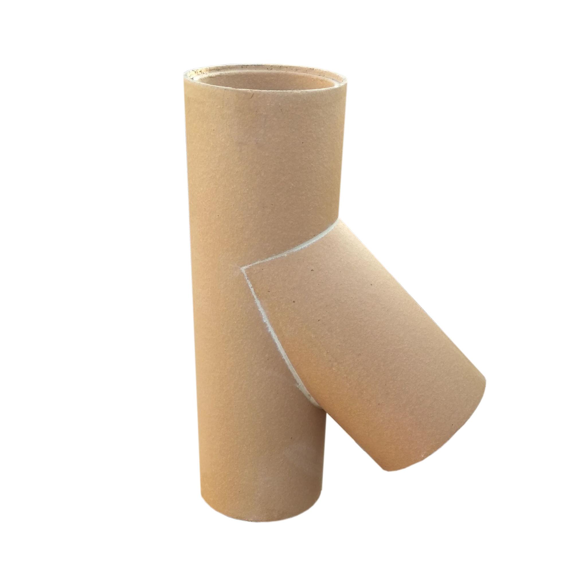 Keramická komínová vložka - odbočka 45° PKZ Keramika Poštorná