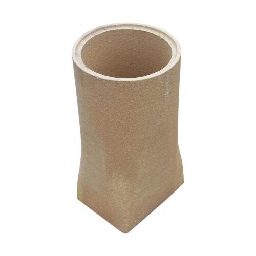 Keramické vložka - přechod 210 x 160 mm na DN 200 mm