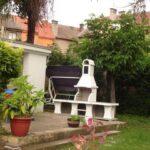 Zahradní krb Beskyd se stolkem