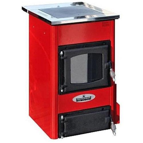 Termomont TEMY S10, interiérový kotel, červený, 10kW