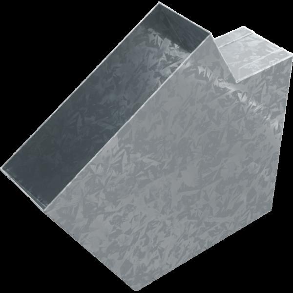 Koleno pro kanál 150 x 50 mm, 60°