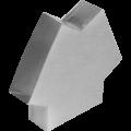Y-kus pro kanál externího vzduchu, plochý