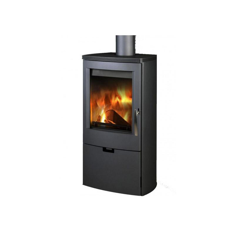 THORMA - FALUN II, černá/černá, 8 kW