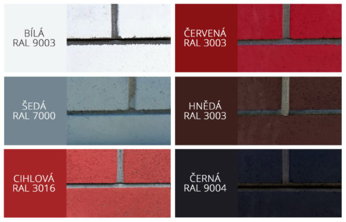 Vzorník RAL barev