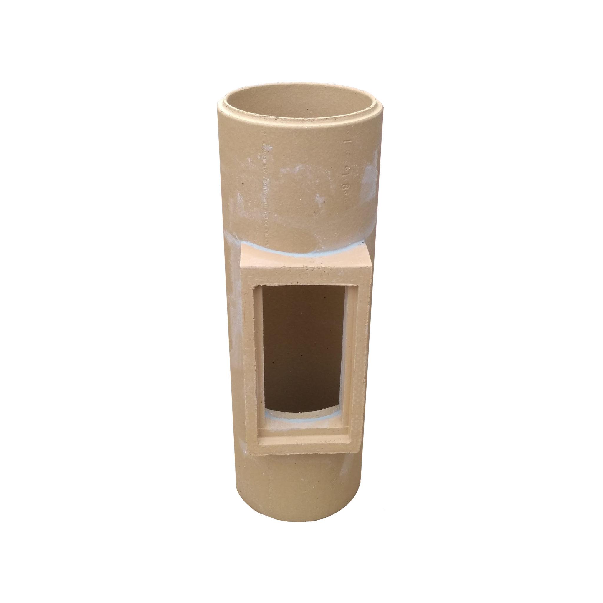 Keramická komínová vložka - dvířkový (čistící) díl HART Keramik
