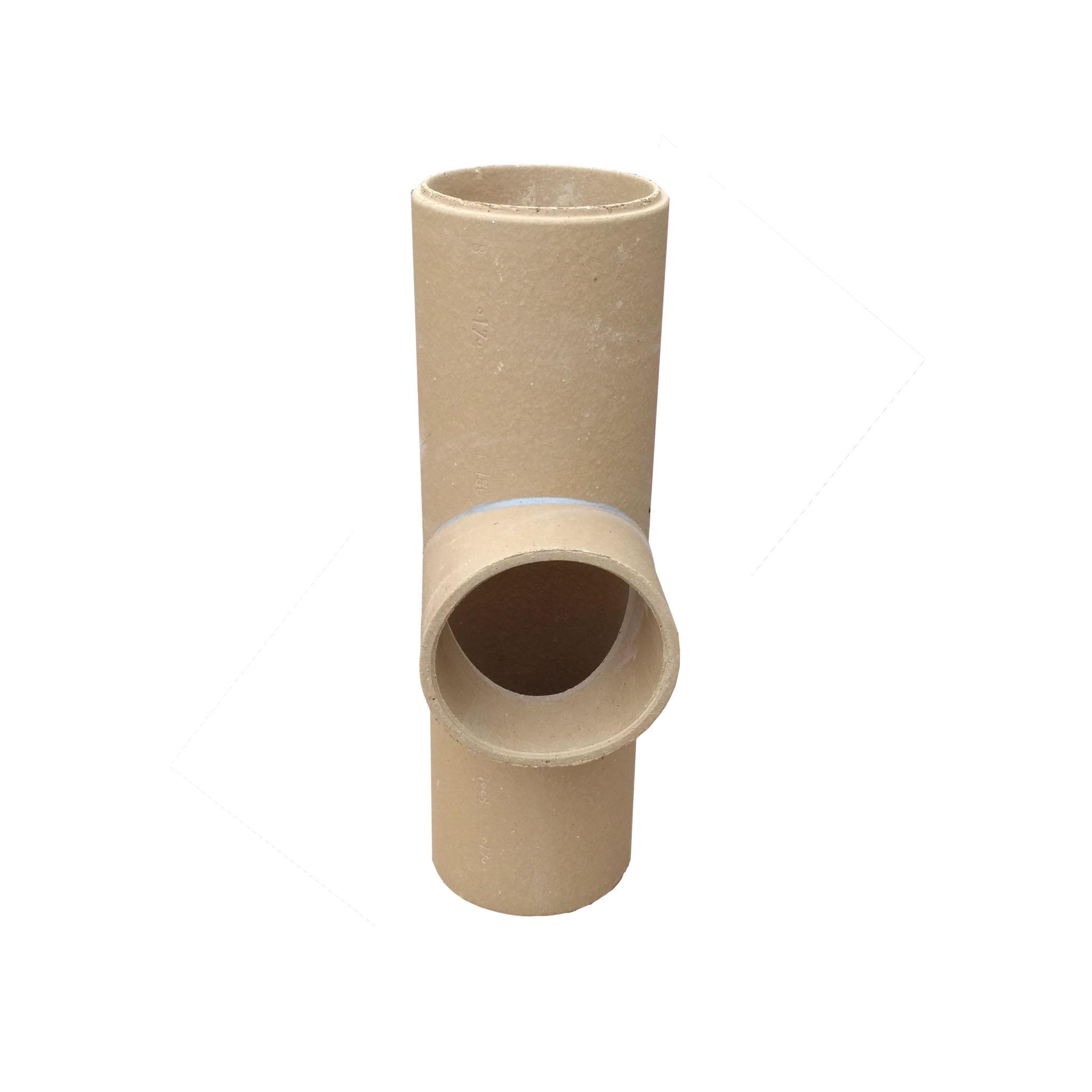 Keramická komínová vložka - odbočka 90° HART Keramik