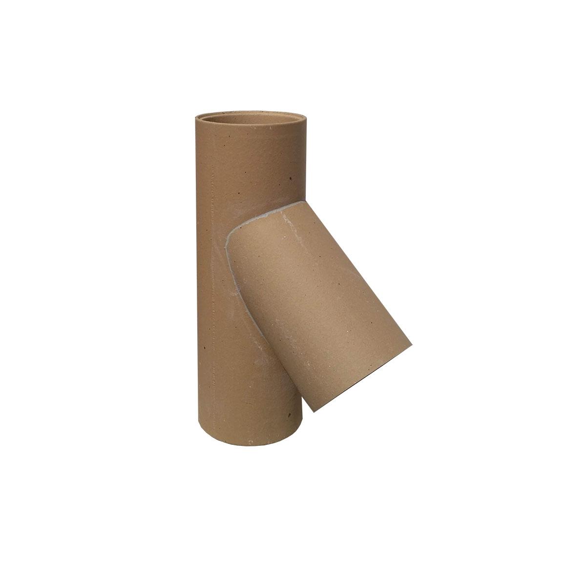 Keramická komínová vložka - odbočka 45°, HART Keramik