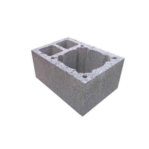 Komínová tvárnice jednoprůduchová, 2xVŠ, 520 x 360 mm, výška 245 mm