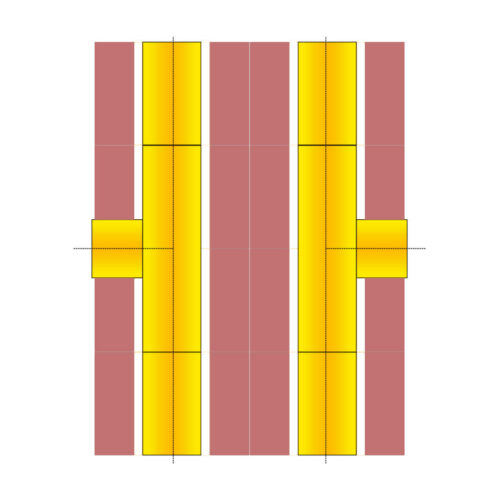 SUPER BLOK Passive 160/90° + 160/90°
