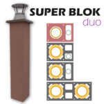 Komíny SUPER BLOK Duo